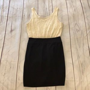 Forever 21 Lace Top Dress Size Medium